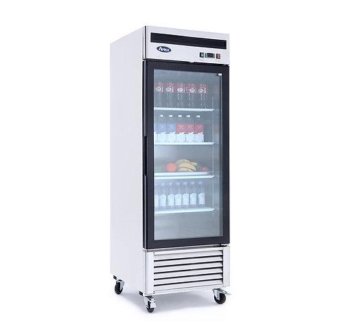 Atosa MCF8705  Glass door Merchandiser Refrigerator Bottom Mount