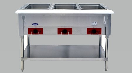 Cook Rite Steam Table 3 well