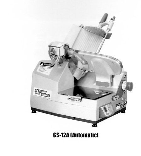 German Knife GS-12A Automatic Meat Slicer