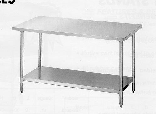 "GERMAN KNIFE WORK TABLE 24"" x 60"""