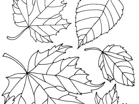 Free Fall Leaves Printable