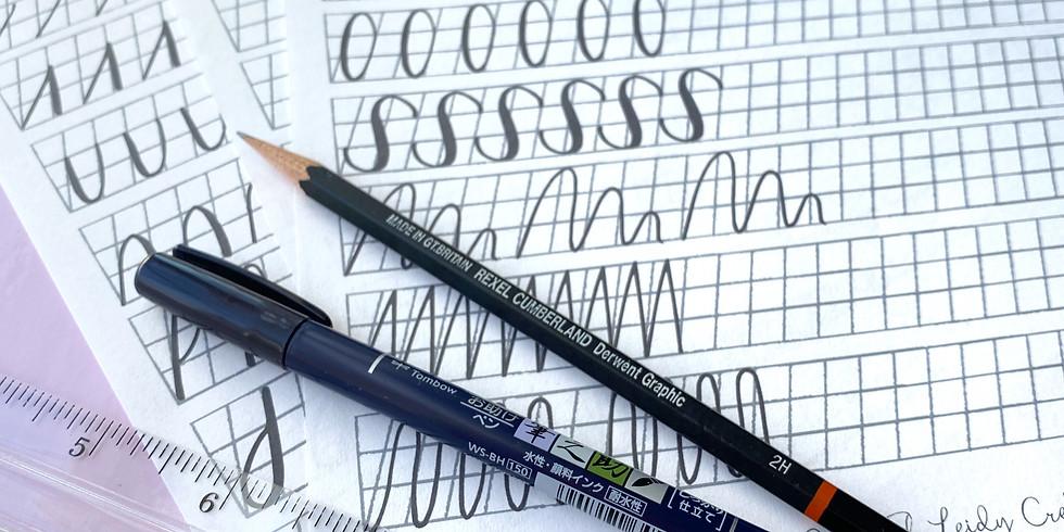 Beginner Brush Pen Calligraphy