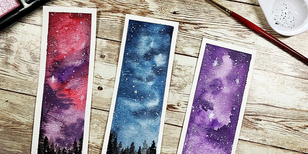 Starry Skies Watercolor