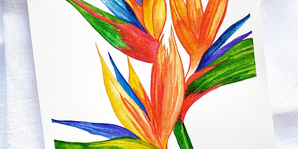 Weird, Wacky and Wild Watercolor Painting