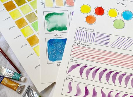 Watercolor Intro Class