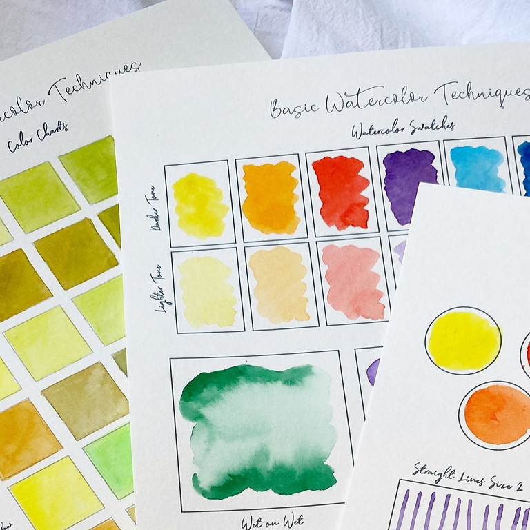 Introduction to Watercolor and Abstract Art