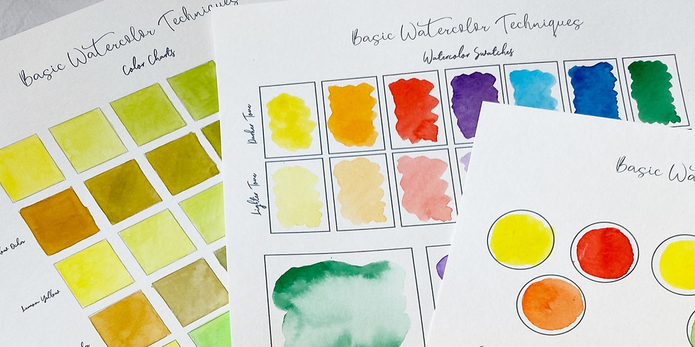Intro to Watercolor and Abstract Painting II
