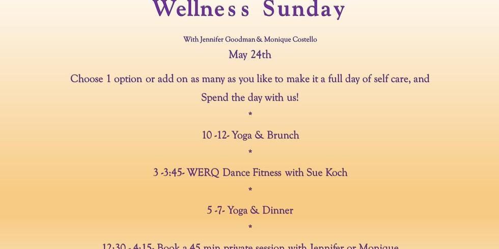 Wellness Sunday