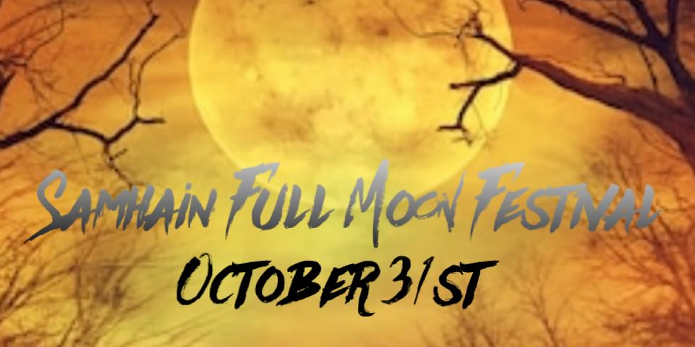 Samhain Full Moon Yoga Festival~ Live or Virtual!