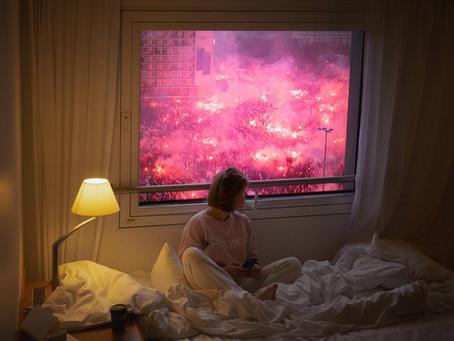 Warsaw ablaze
