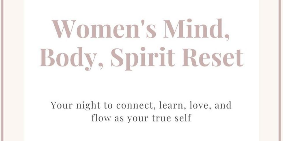 Women's Mind, Body, Spirit Reset Retreat
