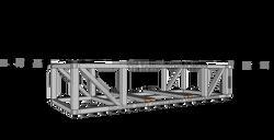 Untergestell 6x2,43x123-A