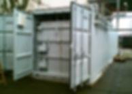 Sonderbau Container Chemie 50m³