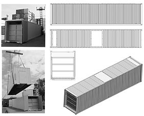 Model 40` Anlagen Container