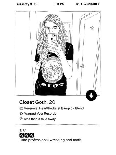 Shirt Design for Closet Goth