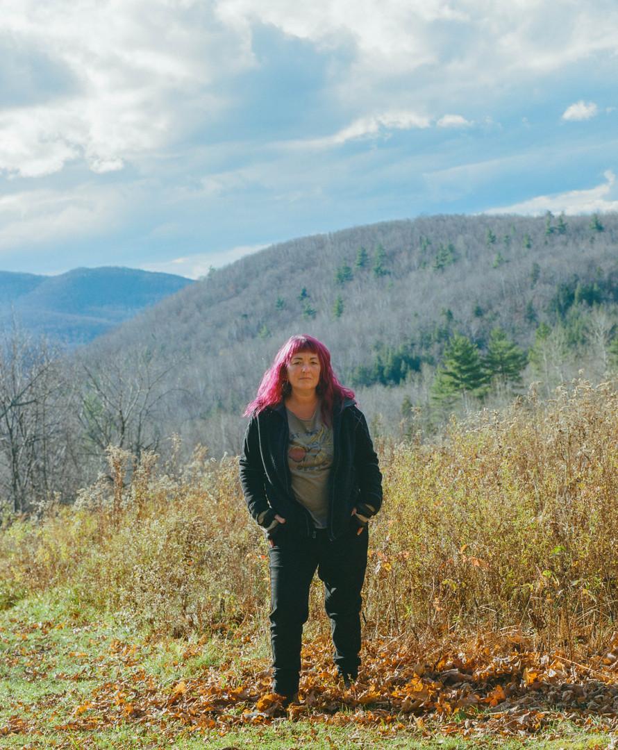 Meg at Vermon Womyn's Land, 2019