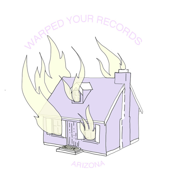 Pin design for Warped Your Records