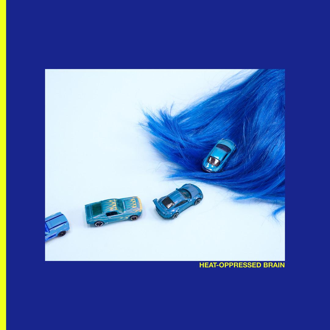 """Album cover for Closet Goth's """"Heat-Oppressed Brain"""", 2019"""