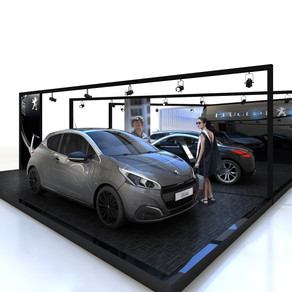 PEUGEOT STAND (agence w)
