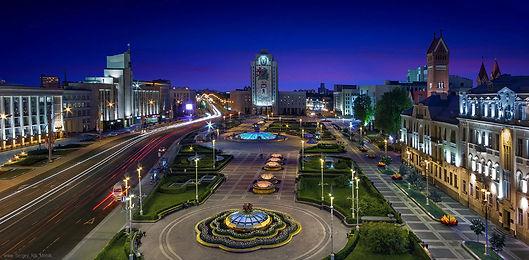 Минск. Площадь Независимости. Маршруты выходного дня.