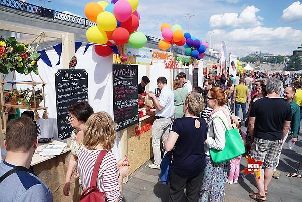 Фестиваль еды в Москве «О, да! Еда!»