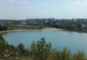 Тамбов. Пляж около Парка Победы