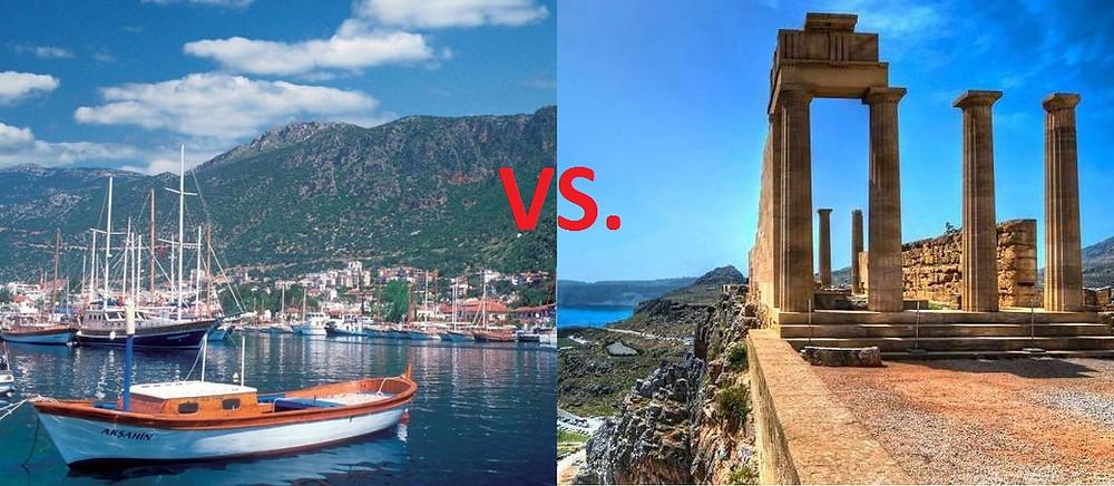 Дешевые двухнедельные туры. Турция, Греция, Родос, Кемер