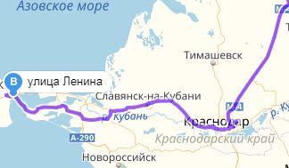 Карта как проехать в Крым 2018