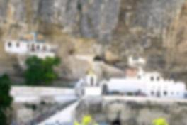 Бахчисарай. Свято-Успенский пещерный монастырь
