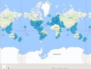 Бесплатный Wi-Fi в аэропортах разных стран