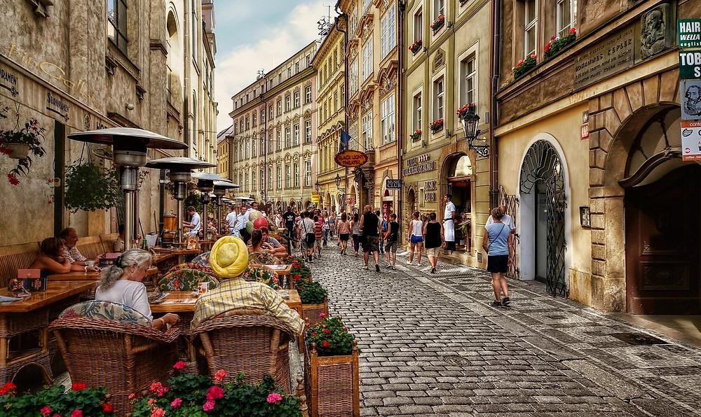 Горящий тур Чехия