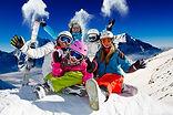 Горные лыжи, сноутборд, кататься, горнолыжный курорты 2018-2019