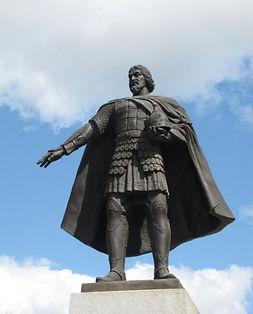 Серпухов. Памятник Владимиру Храброму