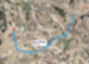 Путешествия по Америке. Дорога из Лас-Вегас в Риджкрест на спутнике