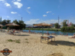 Тамбовский пляж в середине лета