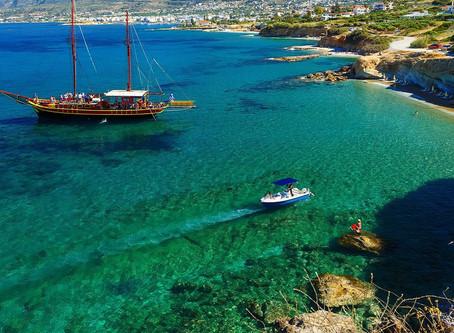 Греция, о.Крит - 3 тура от 38 до 40 тысяч за двоих в октябре.