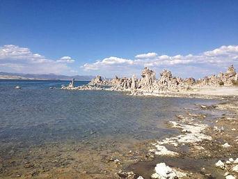 Путешествия по Америке. Солёное озеро Mono Lake.