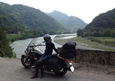 Грузия. Самостоятельно на мотоцикле