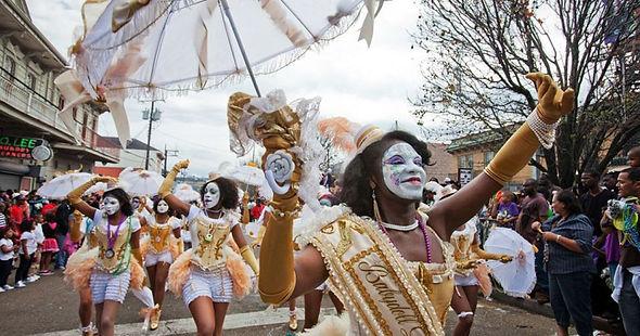 Карнавал на Жирный вторник в Новом Орлеане. Жирный вторник, карнавал, Жирный вторник Новый Орлеан