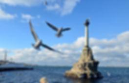Севастополь. Памятник затопленным кораблям