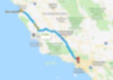 Путешествия по Америке. Дорога из Монтерей в Лос-Анджелес