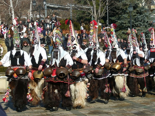 Масленица в Болгарии, как отмечают Масленицу в Болгарии, Шествие Кукеров