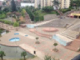 Трабзон. Парк под крепостной стеной Zagnos Vadisi