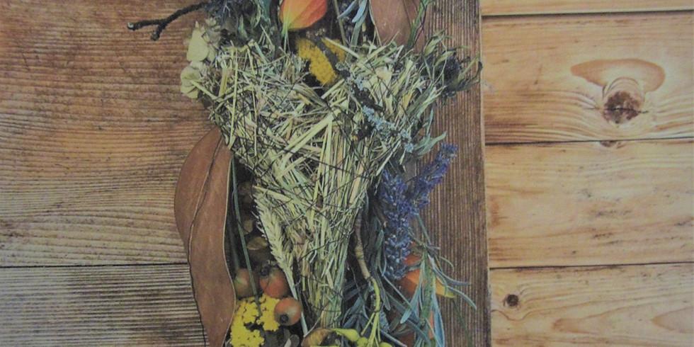 Kurs «Herbstlich-natürlicher Wandtürschmuck»
