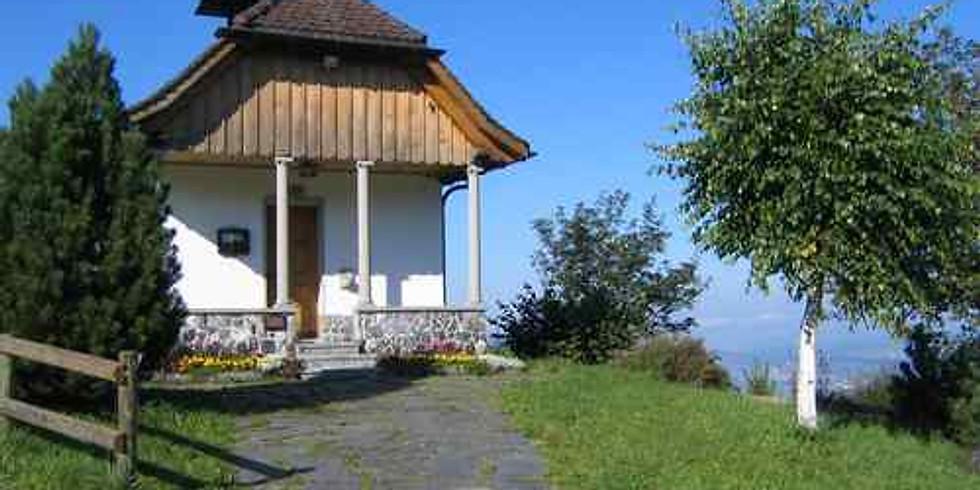 Abendandacht in der Bruder-Klausen-Kapelle Altwies