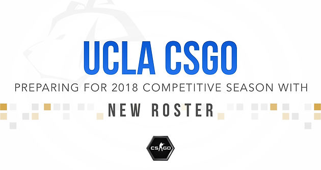 UCLA CS:GO Hopes to Continue Dynasty in 2018 with Roster Change