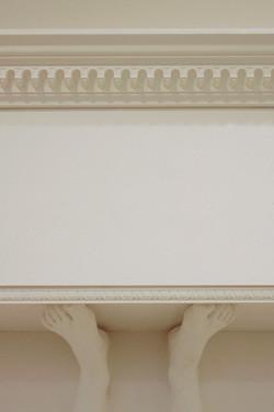 Pediment: detail
