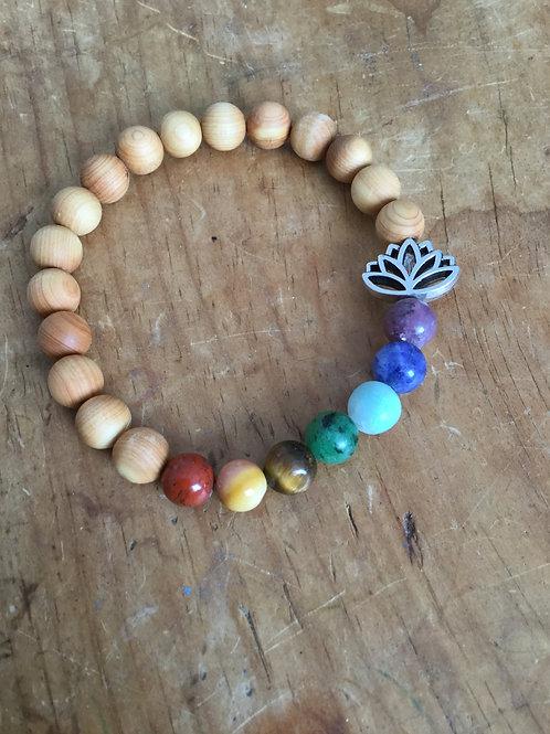 Cedarwood Chakra Bracelet