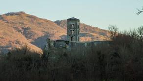 The abandoned abbey of Santa Maria del Piano