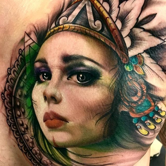 SILVIA PRINCESS Art on Skin 2016- Toront